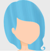 Crazy Color Hair Dye - Bubblegum Blue