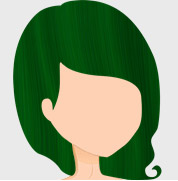 Crazy Color Hair Dye - Emerald Green