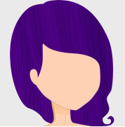 Crazy Color Hair Dye - Hot Purple