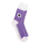 High Top Sneaker Socks (Women's) - Purple