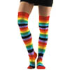 Over The Knee Socks - Rainbow