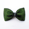 Spider Hair Bow - Green/Black