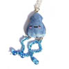 Blue Squid Necklace