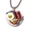 Breakfast Platter Necklace