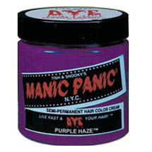 Satin Hair Dye Manic Panic Hair Dye Purple