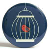 Pocket Mirror - Birdcage Teal