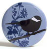 Pocket Mirror - Cleo Bird Blue