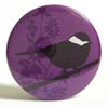 Pocket Mirror - Cleo Bird Purple