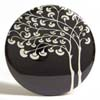 Pocket Mirror - Mod Tree Black