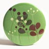 Pocket Mirror - Nature Silhouette Green