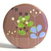 Pocket Mirror - Nature Silhouette Tan