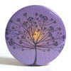 Pocket Mirror - Tree on Purple