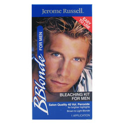 Hair Bleach For Men : BBlonde Bleaching Kit for Men iDyeMyHair.com - hair dye