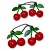 Sourpuss Clothing Hair Bobbles - Cherries