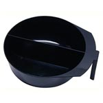 Spilo Hairware Professional Double Duty Tint Bowl - Black